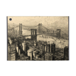 East River Bridges New York City Vintage iPad Mini Case
