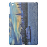 East River View of Sunset Over the NYC Skyline iPad Mini Cover