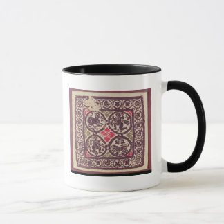 East Roman Empire tapestry showing wild beast Mug