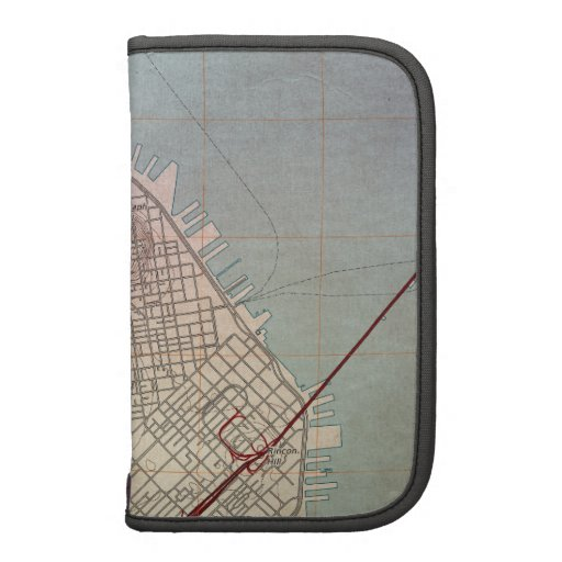 East San Francisco Topographic Map Folio Planner