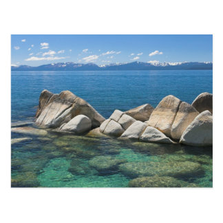 East Shore Rocks, Lake Tahoe... Postcard