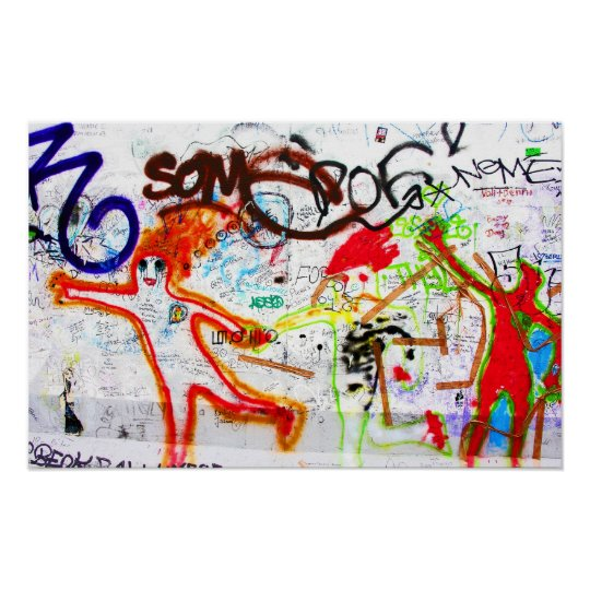East Side Gallery, Berlin Wall, Graffiti (2) Poster