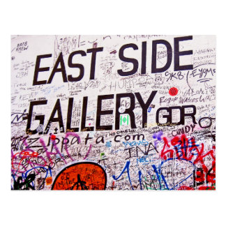 East Side Gallery, Berlin Wall, Graffiti Postcard