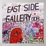 East Side Gallery, Berlin Wall, Graffiti Poster