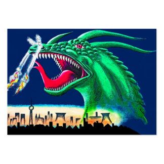 East Side Gallery, Berlin Wall, Green Dragon Pack Of Chubby Business Cards