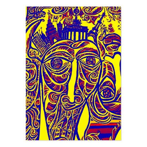 East Side Gallery, Berlin Wall, Modern Art (w30bry Business Card Template
