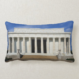 East Side of the Lincoln Memorial Washington D.C. Throw Pillow