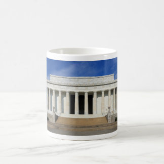 East Side of the Lincoln Memorial Washington D.C. Classic White Coffee Mug