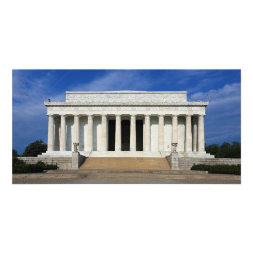 East Side of the Lincoln Memorial Washington D.C. Photo Cards