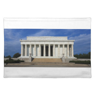 East Side of the Lincoln Memorial Washington D.C. Place Mats