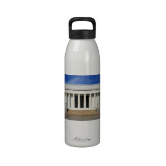 East Side of the Lincoln Memorial Washington D.C. Water Bottle