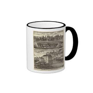 East Side, res & property and Davis' Mill Ringer Mug