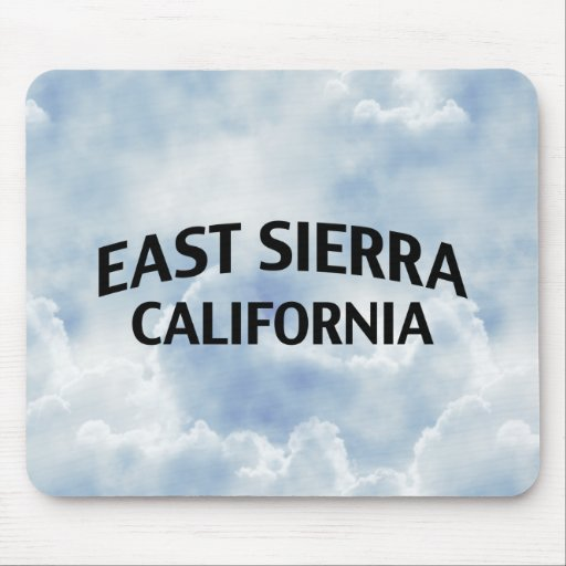 East Sierra California Mouse Pads