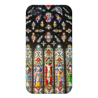East Stained Glass Window Christ Church Cathedral iPhone 4 Cases