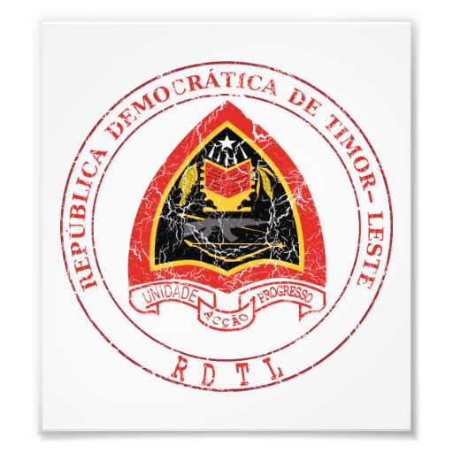 East Timor Coat Of Arms Photo