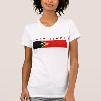 east timor country flag nation symbol long T-Shirt