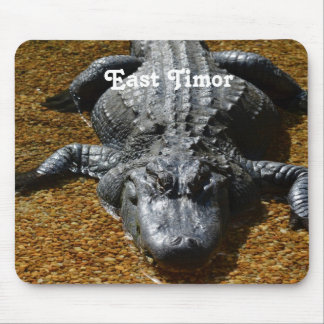 East Timor Crocodile Mousepad