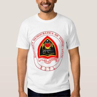 east timor emblem t-shirt