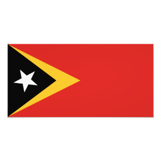East Timor Flag Art Photo
