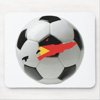 East Timor football soccer Mousepads
