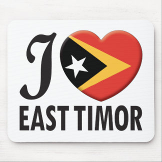 East Timor Love Mouse Pad