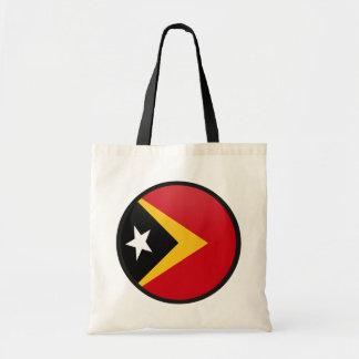 East Timor quality Flag Circle Bags