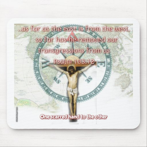 East To West Mousepads