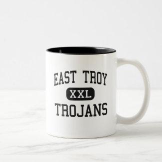 East Troy - Trojans - Junior - East Troy Wisconsin Mug