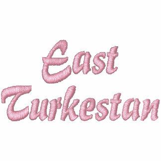 East Turkestan Embroidered Polo Shirt