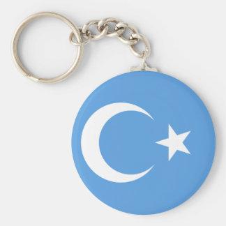 East Turkestan Uyghur Flag Key Ring