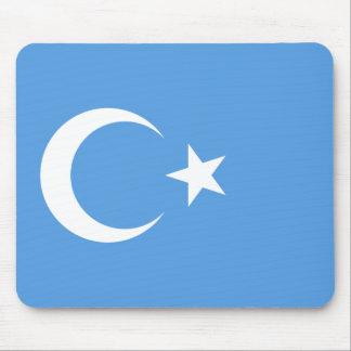 East Turkestan Uyghur Flag Mouse Pad