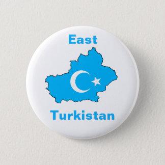 East Turkistan 6 Cm Round Badge