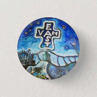 East Van 3 Cm Round Badge