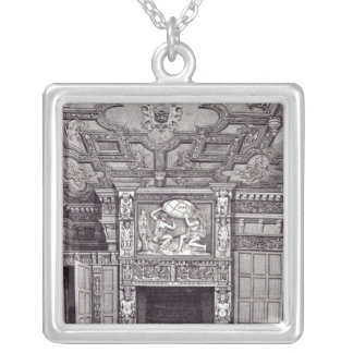 East View of first floor of Sir Paul Pindar's Silver Plated Necklace