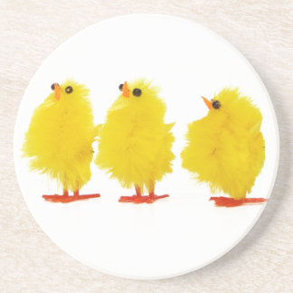 Easter baby chicks Coaster