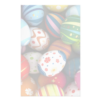 Easter Background Stationery