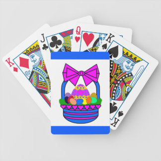 Easter Basket (Holiday) Bicycle Playing Cards