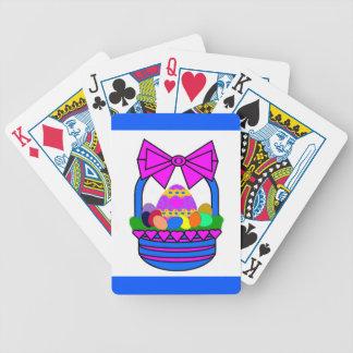 Easter Basket (Holiday) Poker Deck