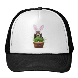 Easter Basset Hound dog Cap