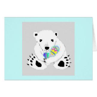 Easter Bear Card