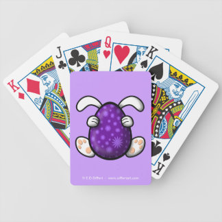 Easter Bicycle Playing Cards