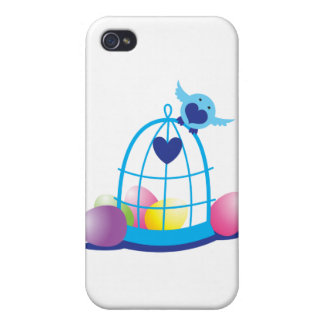 easter birdy iPhone 4 cases