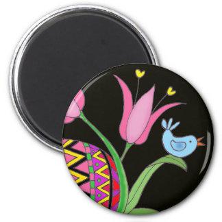 Easter Blessing Ukrainian Folk Art Magnet