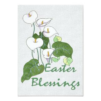 Easter Blessings 13 Cm X 18 Cm Invitation Card