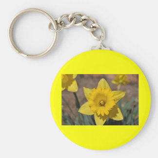 Easter Blessings Basic Round Button Key Ring