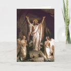Easter Blessings Fine Art Customisable Easter Card