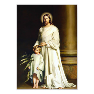 Easter Blessings Fine Art Customizable Easter Card Personalized Announcement