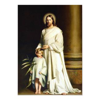 "Easter Blessings Fine Art Customizable Easter Card 5"" X 7"" Invitation Card"