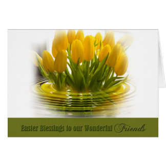 Easter Blessings - Friends Card
