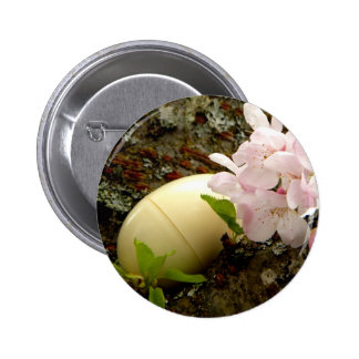 Easter Blossoms 6 Cm Round Badge